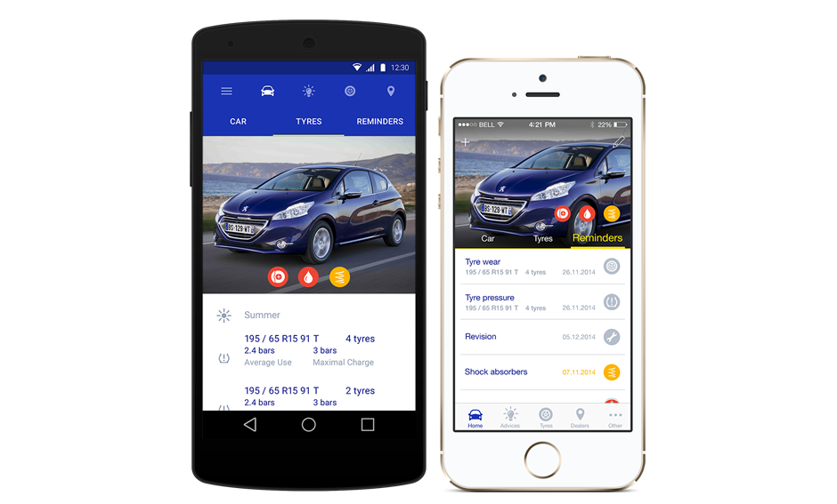 michelin mycar app
