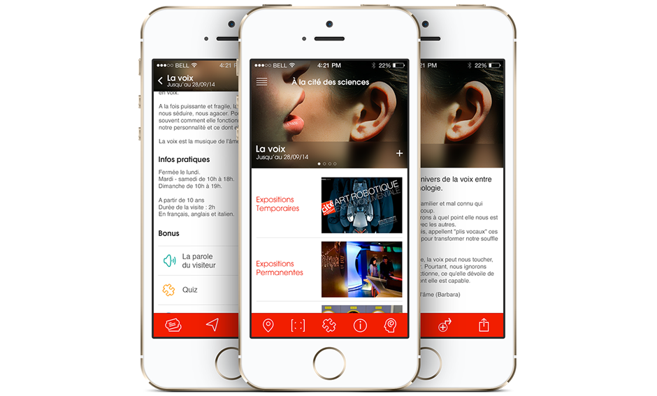 universcience mobile app